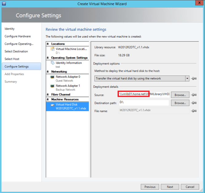 Manage multiple VMM Library