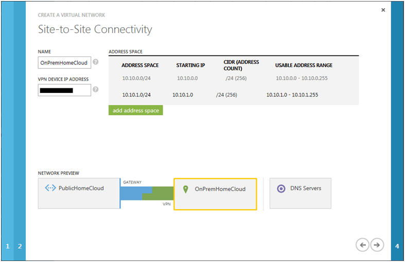 Connect Azure Virtual Networks to On-Premise Networks