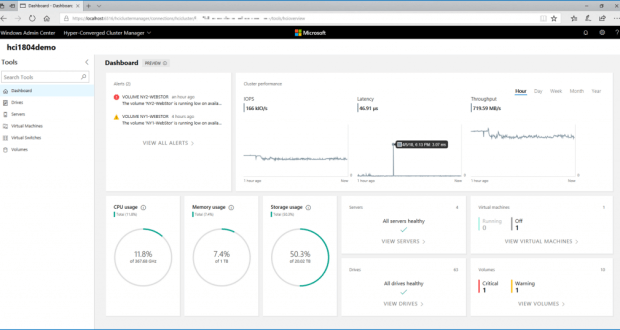 Don't do it: enable performance history in an Azure Stack