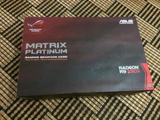 Unboxing & Review: ASUS Radeon R9 290X Matrix Platinum 50