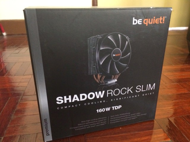 Unboxing & Review: be quiet! Shadow Rock Slim 41