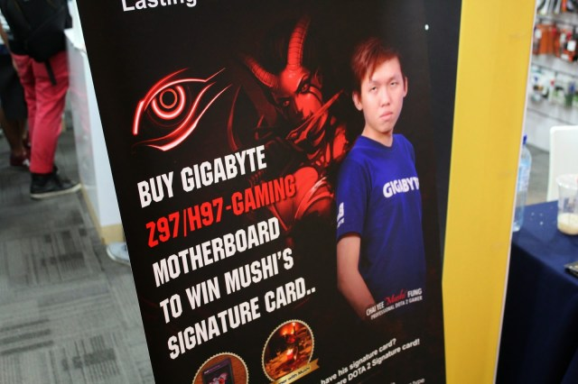 Quick Coverage on Mushi & Gigabyte Fan Meeting Event @Viewnet Low Yat Plaza 1