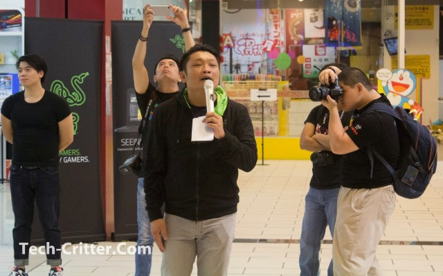 Coverage of the Launching of the Razer Blade @ Ikano Power Centre 127