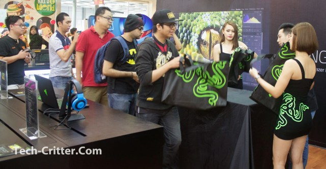 Coverage of the Launching of the Razer Blade @ Ikano Power Centre 128