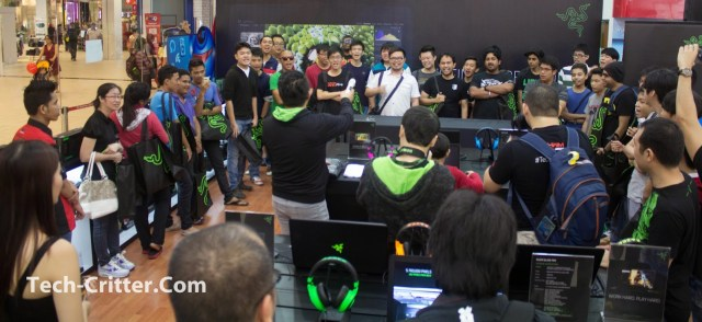 Coverage of the Launching of the Razer Blade @ Ikano Power Centre 140