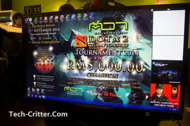 Brief coverage of the Applez Dream Net Dota 2 Championshio 2014 by TTEsports 49