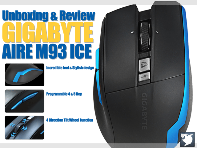 Unboxing & Review: Gigabyte AIRE M93 ICE 1