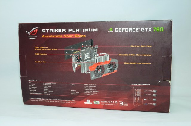 Unboxing & Review: ASUS ROG Striker GTX 760 Platinum 5