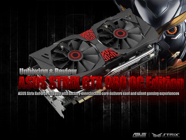 Unboxing & Review: ASUS STRIX GTX 980 OC Edition 29