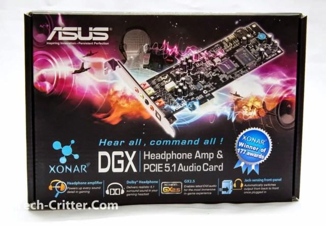 Unboxing & Review: Asus Xonar DGX PCI-E 5.1 Sound Card 2