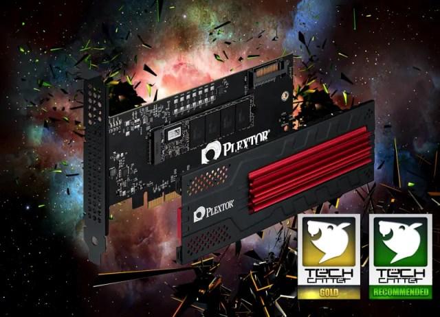Unboxing & Review: Plextor M6e Black Edition PCIe SSD 96
