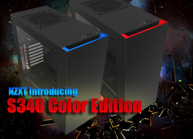 NZXT introducing the S340 Color Edition 1