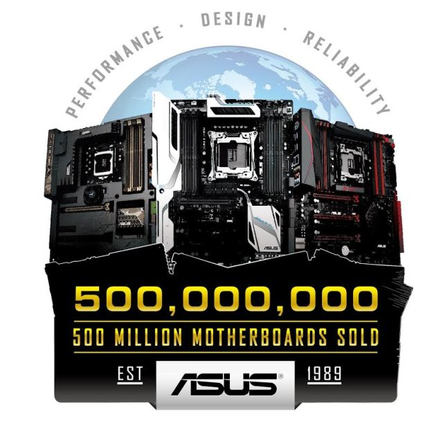 ASUS Celebrates 500 Million Motherboard Sales with Global Giveaway 3