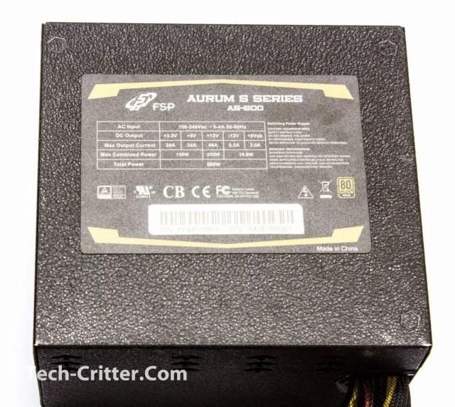 Unboxing & Overview: FSP Aurum 600W and Aurum CM 650W 77