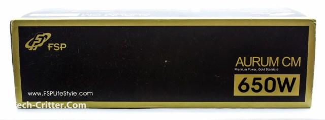 Unboxing & Overview: FSP Aurum 600W and Aurum CM 650W 82