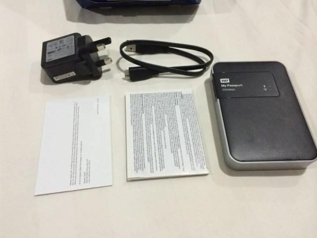 Unboxing & Review: Western Digital My Passport Wireless 1TB 63