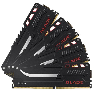 """Apacer Launches """"BLADE"""" DDR4 Overclocking Memory Module Flagship Specification and Clock Rate Up to 3300 MHz 11"""