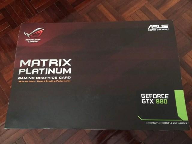 Unboxing & Review: ASUS ROG GTX 980 Matrix Platinum 48
