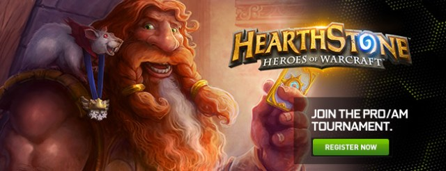 NVIDIA Announces Hearthstone: Heroes of Warcraft Pro/AM Tournament 3