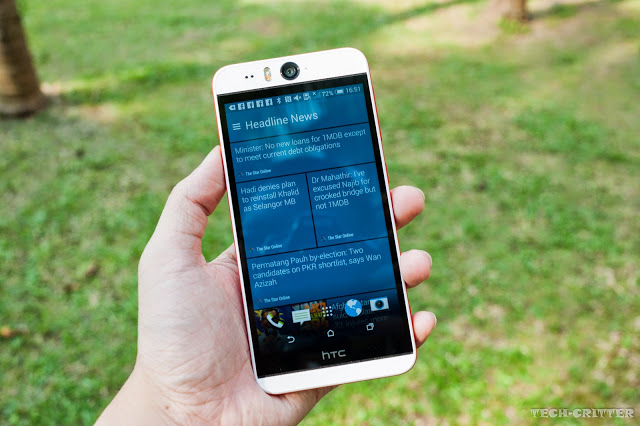 Unboxing & Review: HTC Desire Eye 31