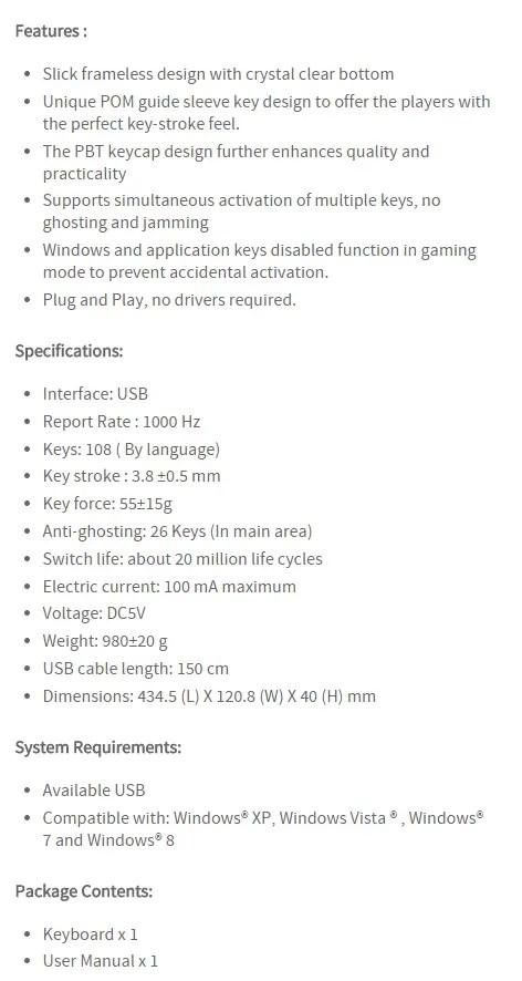 Unboxing & Review: i-Rocks IK6 Crystal USB Keyboard 42