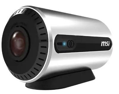 MSI Somethings PANOCAM- WiFi Fisheye Camera 15