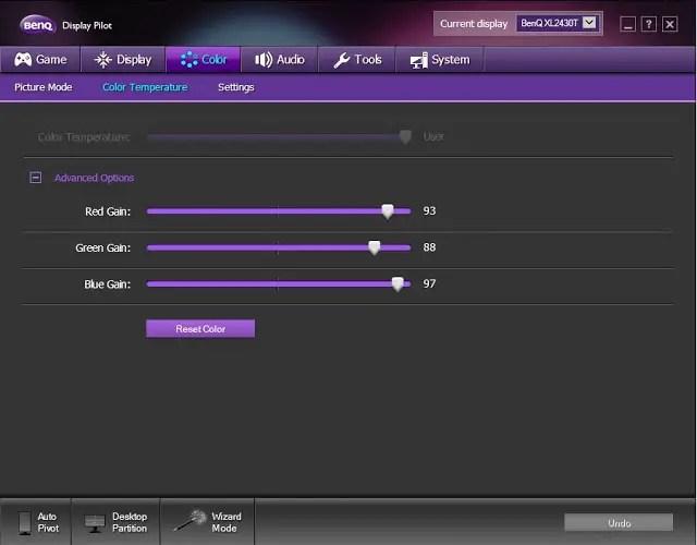 Review: BenQ XL2430T Gaming Monitor 113