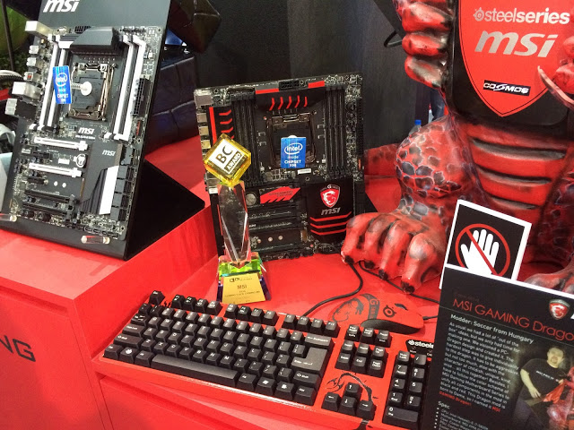 MSI Shows Off Its Eye-catching Gaming Hardware 1