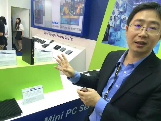 "Giada unveils mini PC powered with Intel ""Skylake"" based CPU 21"