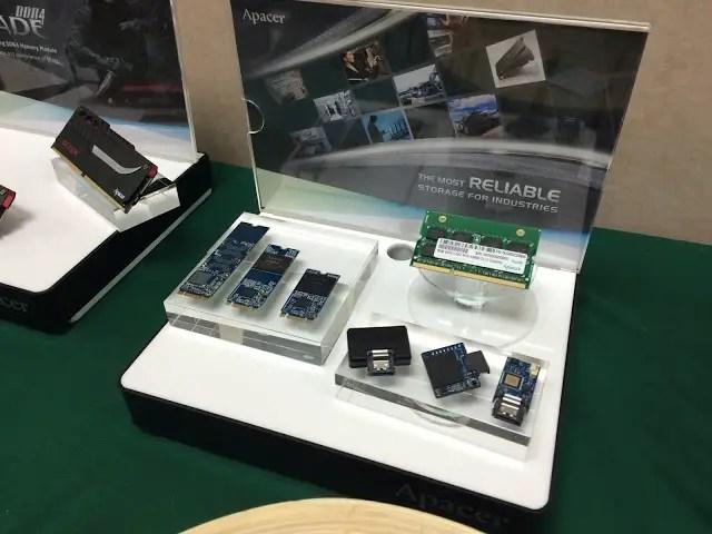 Apacer unveils NFC SSD, USB 3.1 Type-C flash drives and Fingerprint flash drives 32