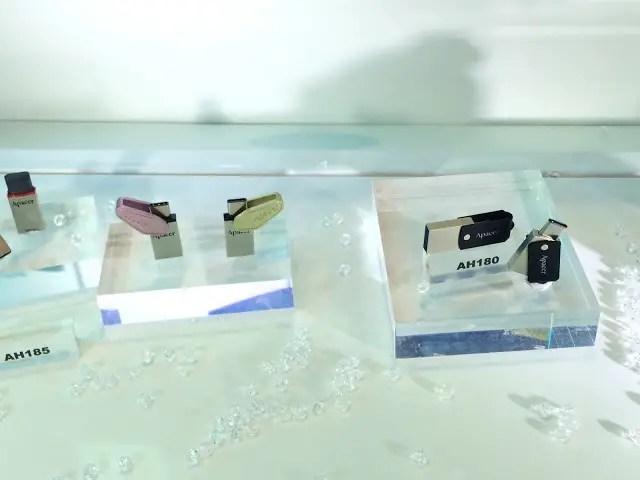 Apacer unveils NFC SSD, USB 3.1 Type-C flash drives and Fingerprint flash drives 44