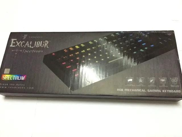 Unboxing & Review: Tesoro Excalibur Spectrum Mechanical Gaming Keyboard 3