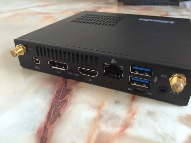 Unboxing & Review: Giada i200-b8000 Ultra Small Form Factor Barebone System 8
