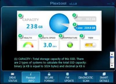 Plextor M6V 256 GB SSD Review 10