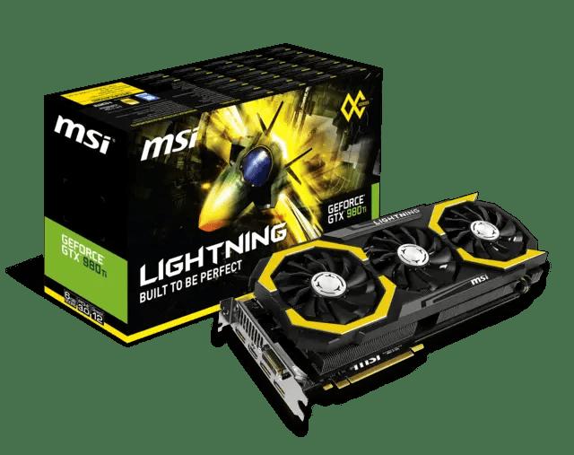 MSI announces its latest flagship GTX 980Ti Lightning 23
