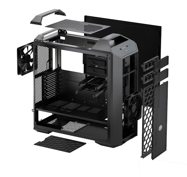 Cooler Master Launches MasterCase 5 & Pro 5 with FreeForm™ Technology 1