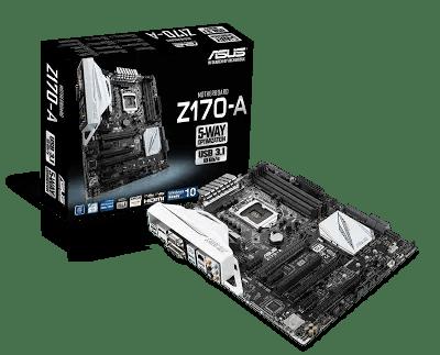 ASUS Announces Z170 Signature Series 10