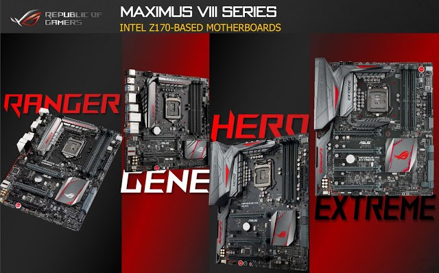 ASUS Technical Seminar 2015: ASUS Z170 motherboards get not only new features but also major change in the appearance 19
