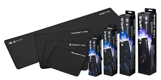 Cooler Master LaunchesSwift-RX Mousepad Series 12