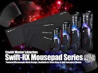 Cooler Master LaunchesSwift-RX Mousepad Series 9