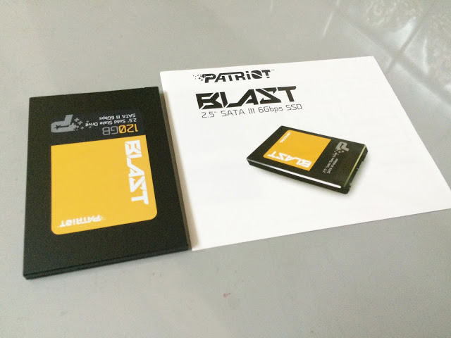 Unboxing & Review: Patriot Blast SSD 120GB 23