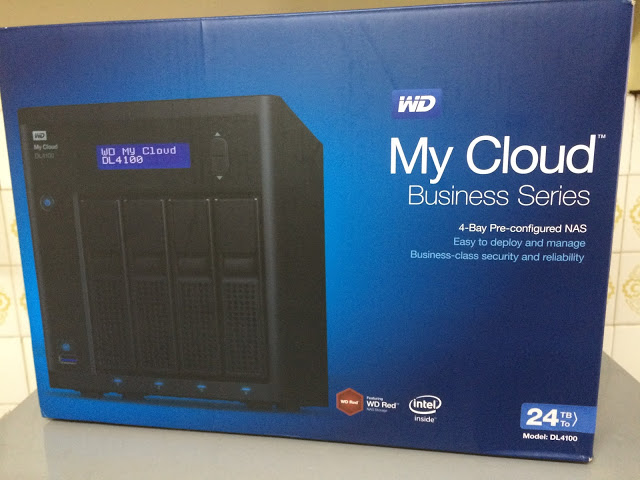 WD My Cloud Business Series DL4100 24TB NAS Review 3