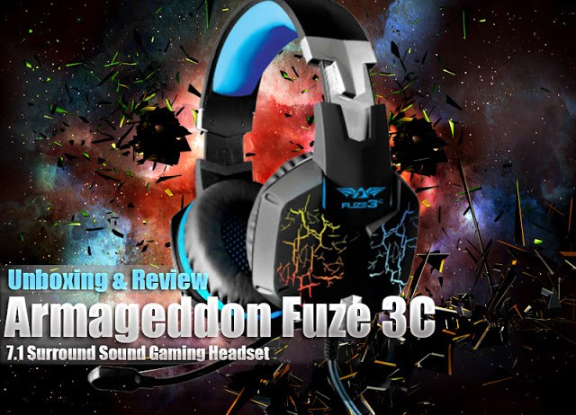 Unboxing & Review: Armaggeddon Fuze 3C 7.1 Surround Sound Gaming Headset 1