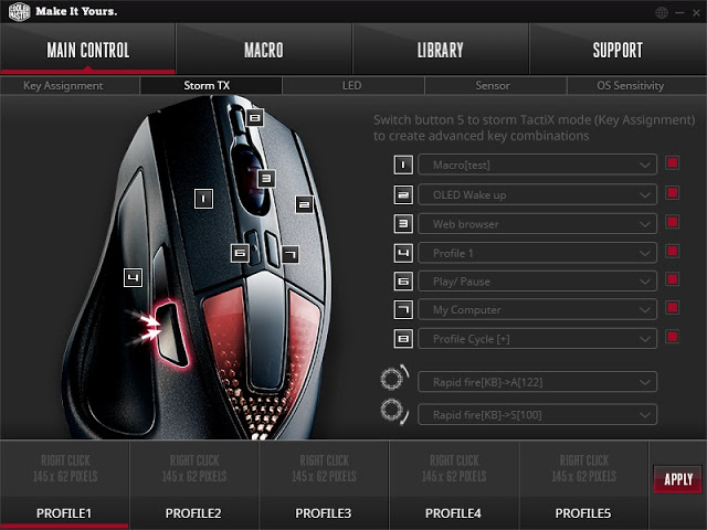 Unboxing & Review: Cooler Master Sentinel III Optical Gaming Mouse 86