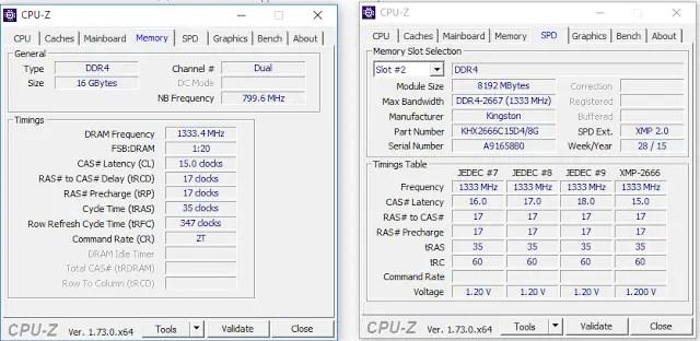 Kingston HyperX Fury DDR4 16GB Memory Kit Review 6