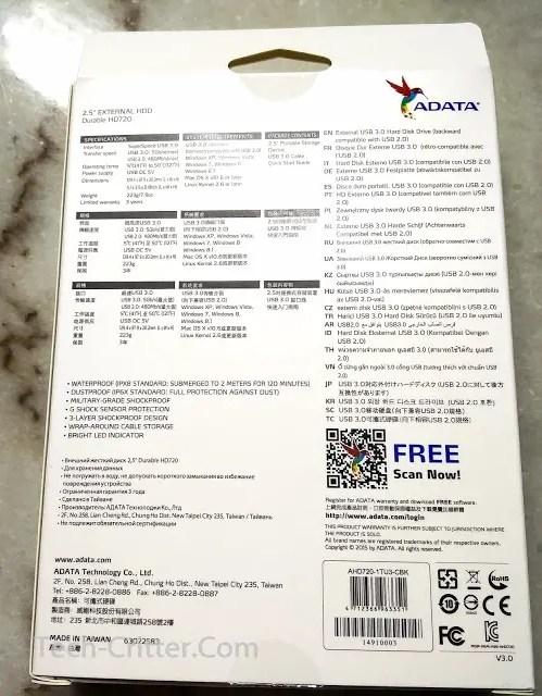 Unboxing & Review: Adata HD720 External HDD 33