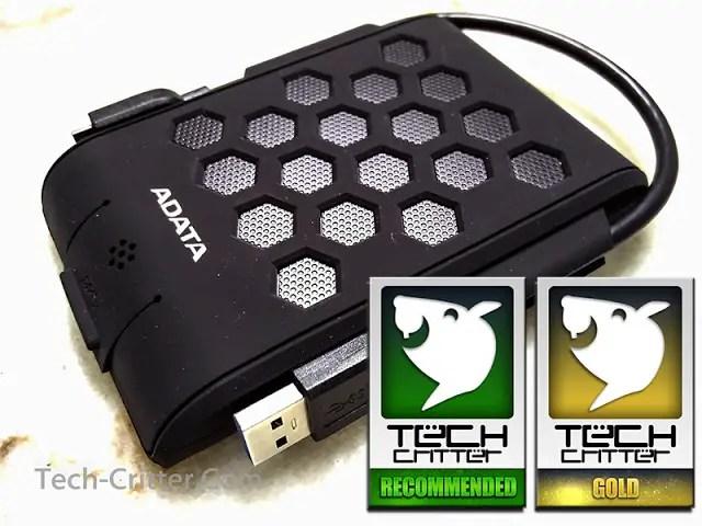 Unboxing & Review: Adata HD720 External HDD 45