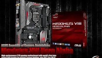 Unboxing & Review: ASUS ROG Maximus VIII Formula