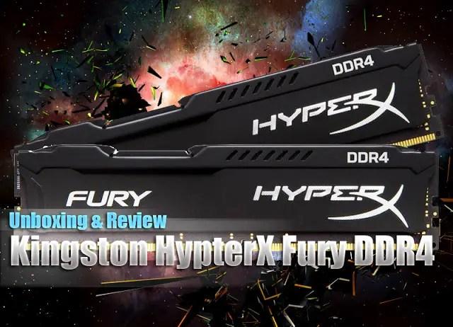 Kingston HyperX Fury DDR4 16GB Memory Kit Review 1