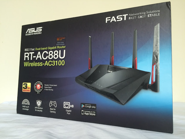 Unboxing & Review: ASUS RT-AC88U Wireless-AC3100 Dual-Band Gigabit Router 2